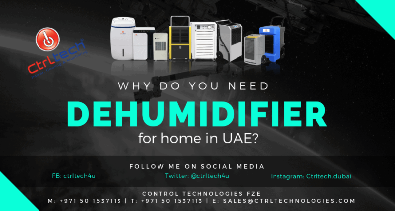 Why you need dehumidifier for home in UAE?