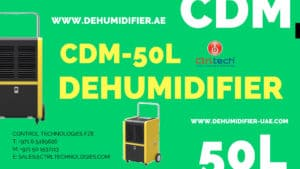 CDM-50L commercial dehumidifier Review.