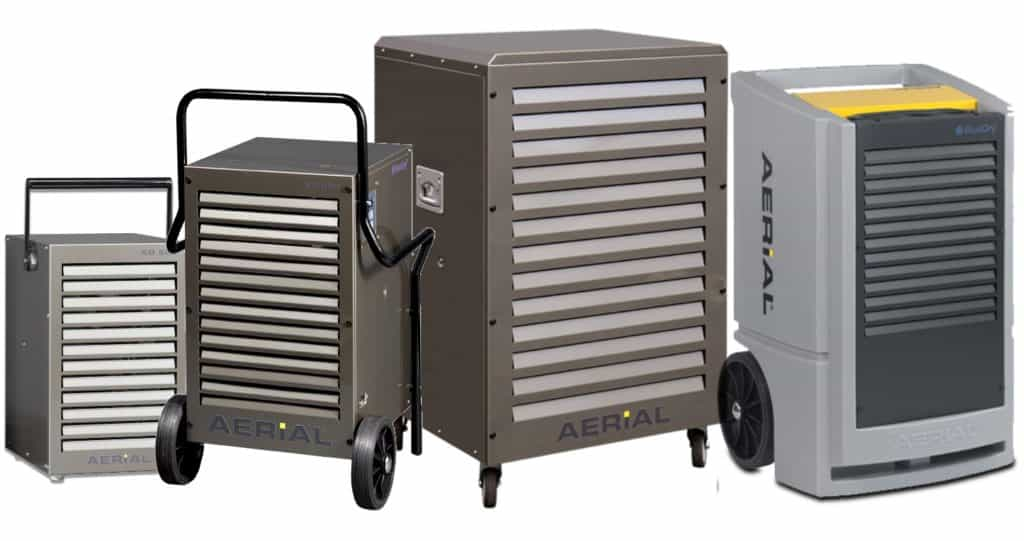 Industrial dehumidifier made in Germany