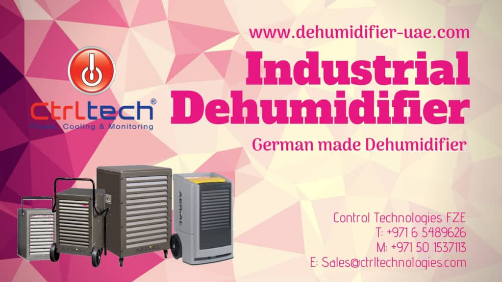 Industrial German dehumidifier by Aerial now in UAE.