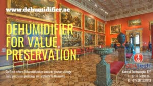 Dehumidifier for Museums