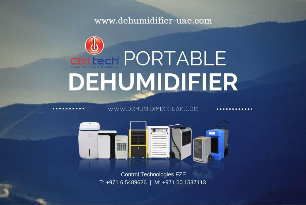 CtrlTech ortable dehumidifier Dubai