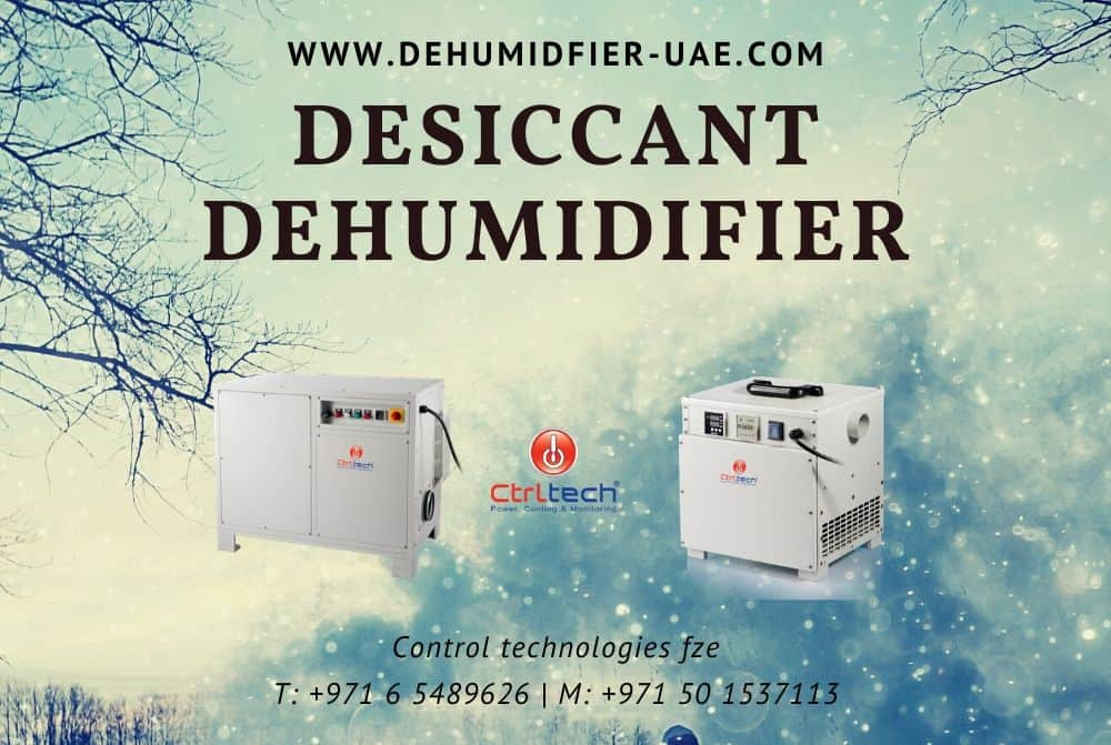 Desiccant dehumidifier supplier in Dubai, UAE.
