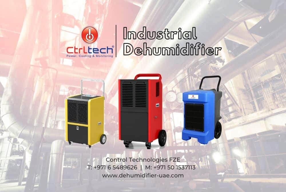Industrial dehumidifier in UAE, Oman and Saudi Arabia.