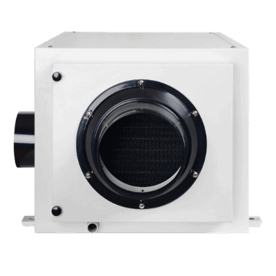 SPD-136L dehumidifier for indoor pool rooms.