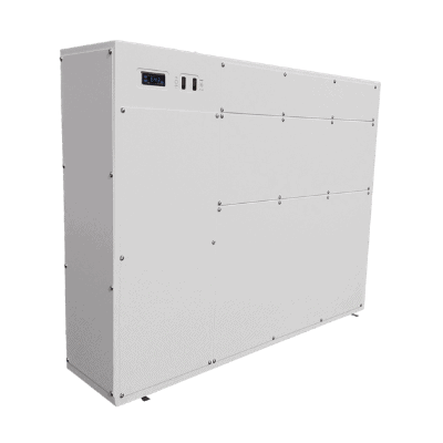 DRY duct dehumidification system for indoor pool.