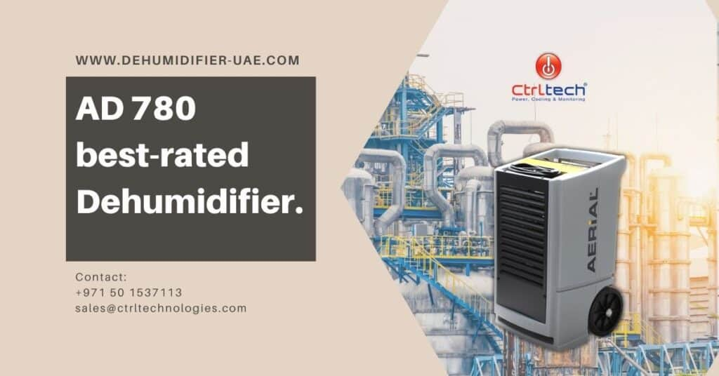AD 780 best-rated dehumidifier in Dubai and Kuwait.