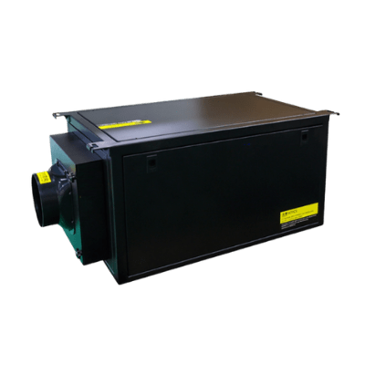 SPD-50L dehumidifier for ductwork.
