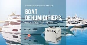 The best boat dehumidifier for yachts and sailboats.